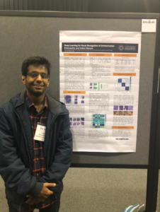 Aman Shrivastava presents at IEEE-EMBS International Conference On Biomedical and Health Informatics (BHI'19) , Chicago, IL, USA