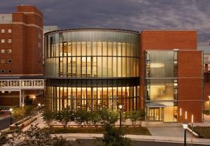 Photo: UVA School of Medicine education building