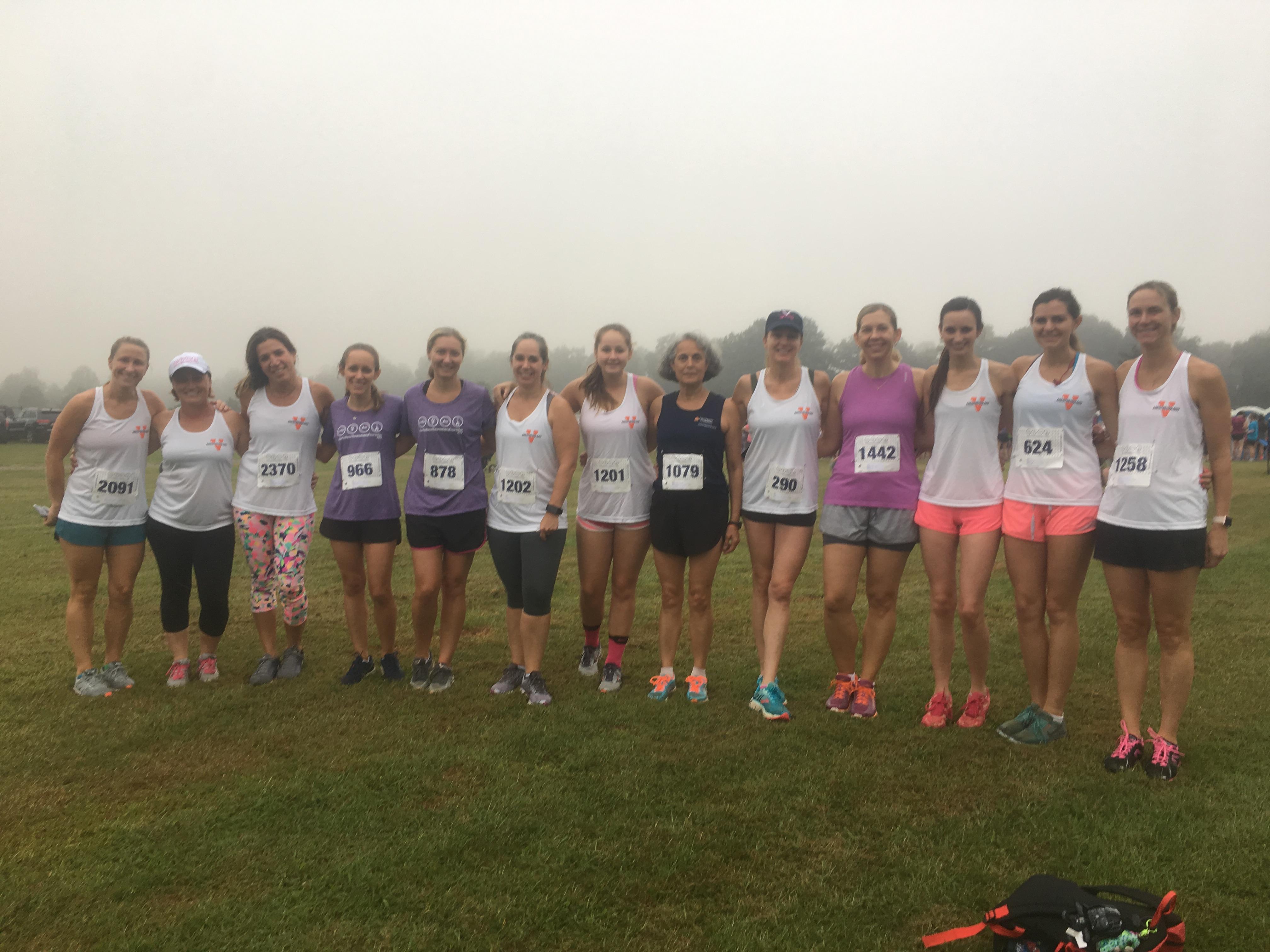 Team ANES: 2018 Charlottesville Women's 4-Miler