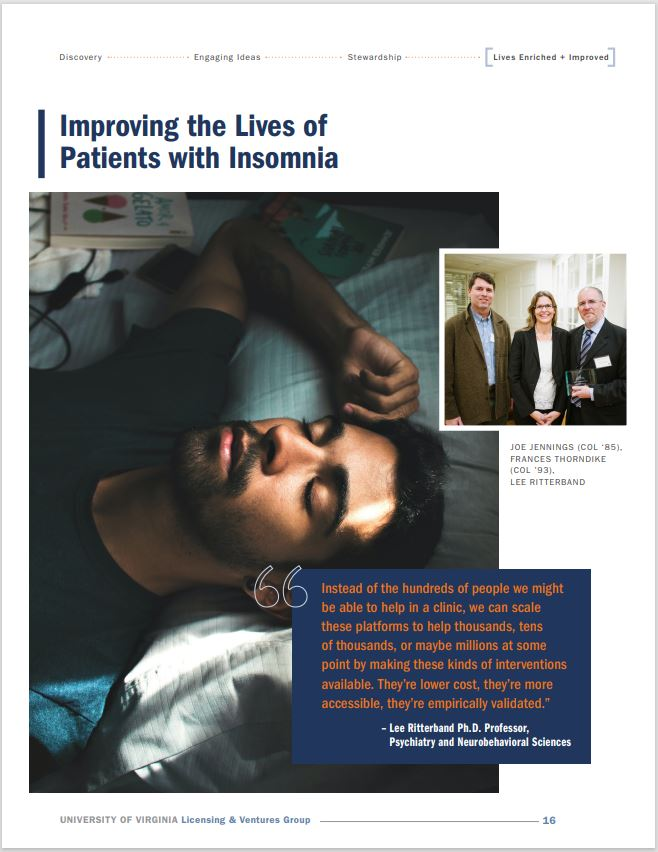 Cover photo UVA LVG article