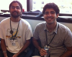 Sachin Gadani and Shadi Khalil of Kipnis Lab