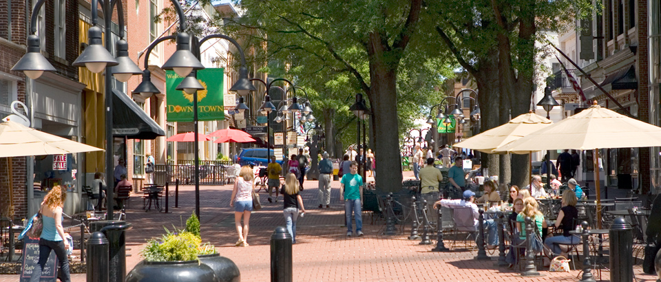 Downtown walking Mall