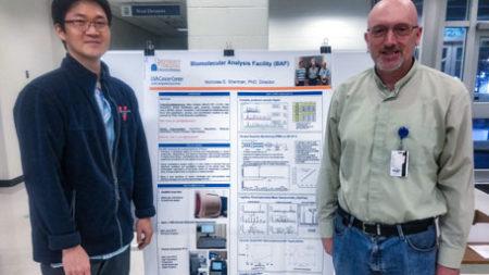JJ Park(left) and Nicholas Sherman, Ph.D.(right)