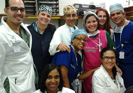Cardiovascular fellowship program's humanitarian mission to Dominican Republic.