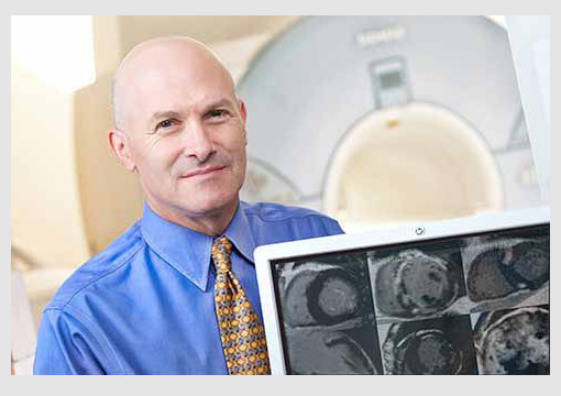 Dr. Chris Kramer heads  the Cardiovascular Imaging and Research Training Program.