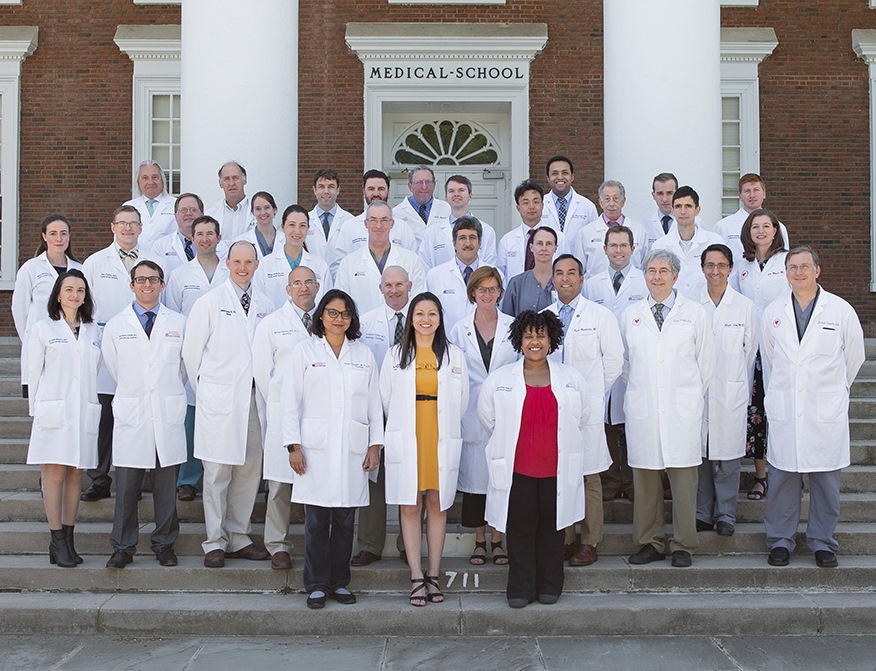 Division of Cardiovascular Medicine faculty and fellows (May 2017)