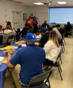 Community Health Workers teaching Understanding Cancer