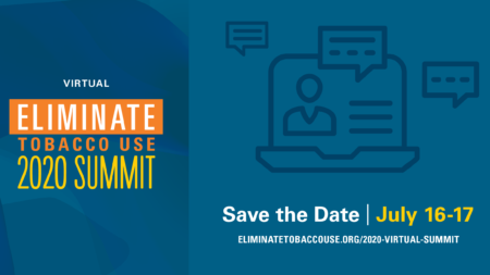 Eliminate Tobacco Use Summit Save the Date