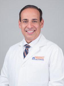 Chair of Dermatology, Arturo Saavedra