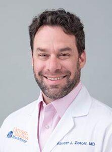 University of Virginia Dermatologist Dr. Barrett Zlotoff