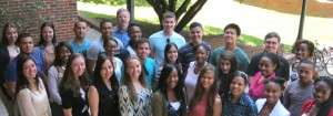 Photo: UVA Summer Research Internship group