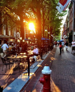 Photo: Charlottesville's Downtown Mall