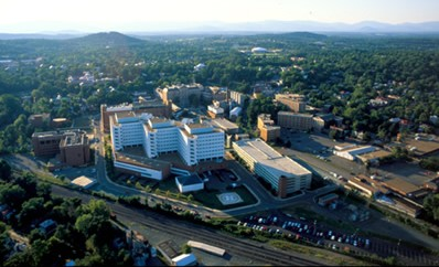 Photo: UVA hospital from above