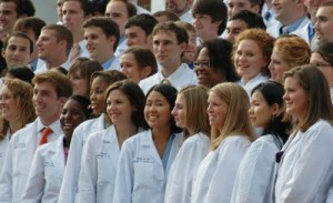 Photo: The School of Medicine graduates