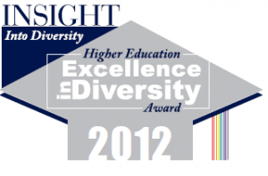 Image: 2012 The INSIGHT Into Diversity 'Higher Education Excellence in Diversity' (HEED) Award