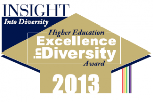 Image: 2013 The INSIGHT Into Diversity 'Higher Education Excellence in Diversity' (HEED) Award