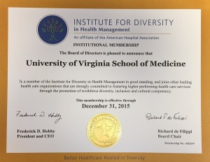 Image: University in Health Management certificate