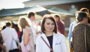Photo: UVA School of Medicine student