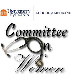 Logo: UVA School of Medicine and Committee on Women