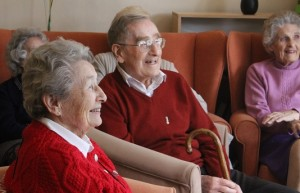 Photo of happy elderly People