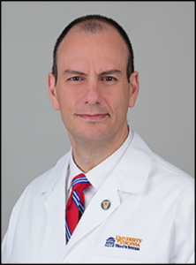 Portrait of Dr. Ghaemmaghami in a white coat
