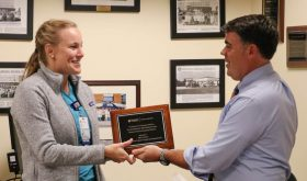 Mary Bacon, MD Receives Research Award