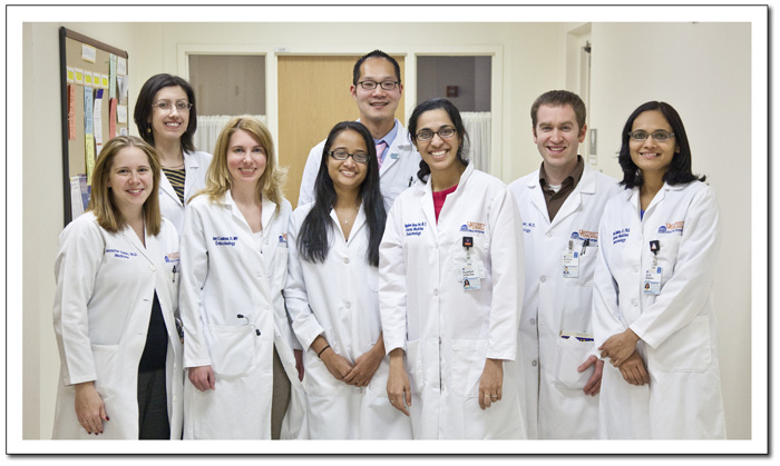 Photos of 2011-2012 Endocrinolgy Fellows