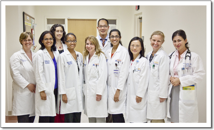 Photo of 2012-2013 Endocrinology Fellows