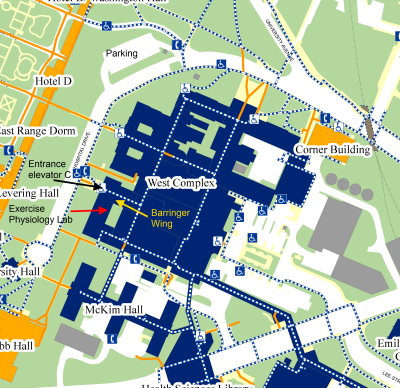 Location And Contact Information - Uva map