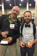 Dr. Diduch and Adam Fletcher