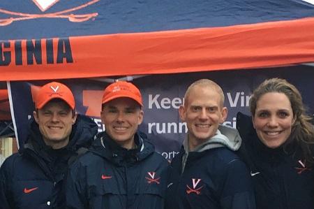 Drs. Hryvniak, Wilder, Kirkbride and Statuta at a marathon 450x299