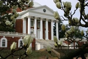 Springtime on Grounds at the University of Virginia