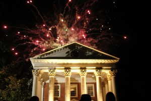 Fireworks at the Rotunda