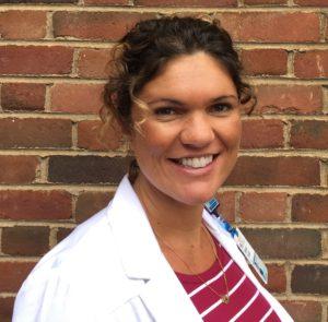 UVA Nutrition Support Specialist Meagan Bridges.