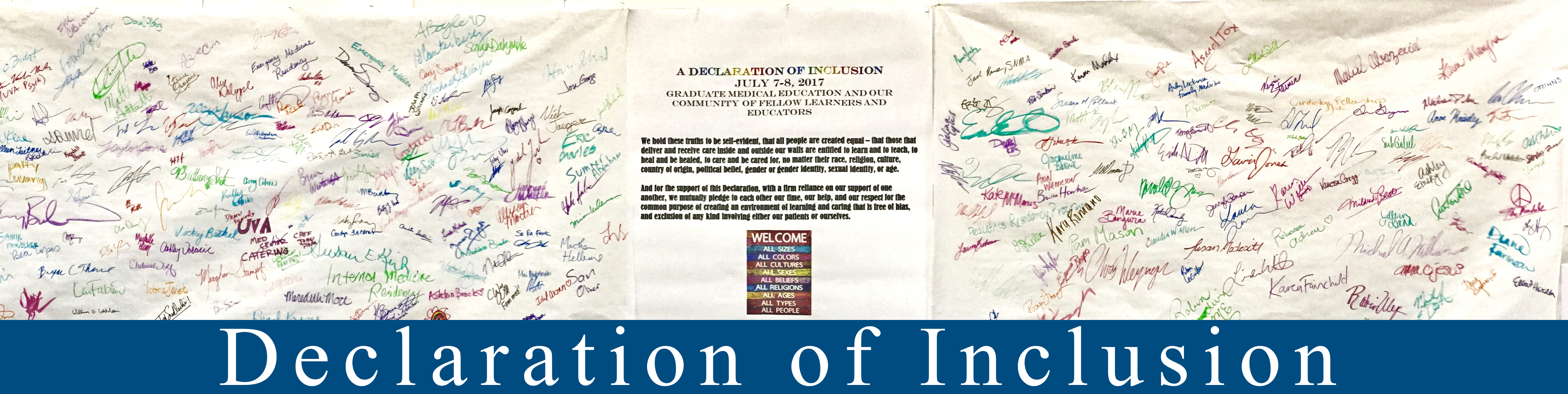 Declaration of Inclusion
