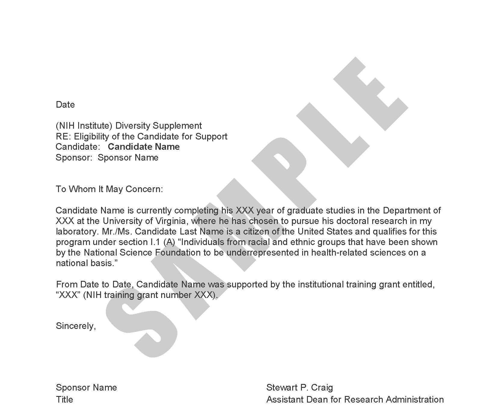 Grant Letter Of Support Sample from med.virginia.edu