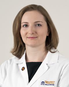 Photo of Dr. Hillary Maitland