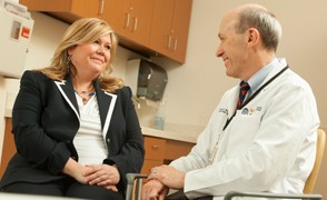 Photo of Doctor consult with patient