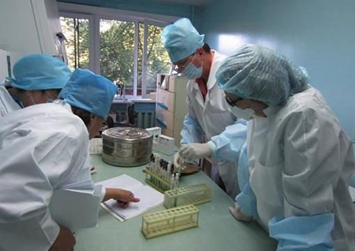 TB diagnostic lab, Irkutsk, Siberia--a UVA-ID partner study site.