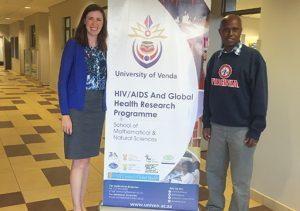 Image of ID-Fellow Kate McManus and University of Venda colleague