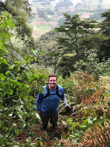 Bill Gilbert in Uganda