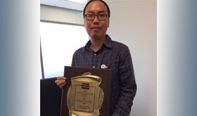 Congratulations to Huiwang Ai – winner of the Toxicology Young Investigator Award, ACS
