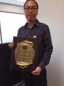 Huiwang Ai holding Toxicology Young Investigator Award