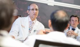 Dr. Kambiz Kalantari Receives Top UVA Faculty Honor