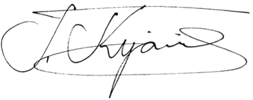 Jony signature