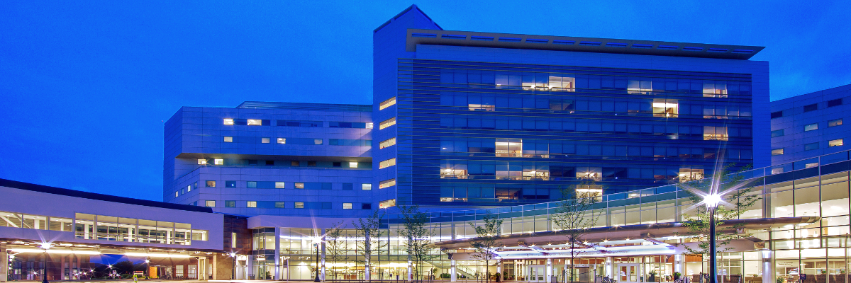Medical Center at night image
