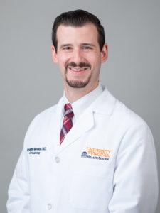 head shot of Dr. Nicholas