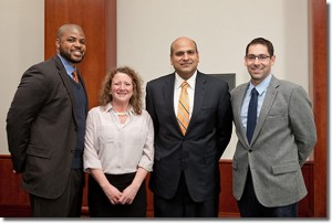Drs. A. Bobby Chhabra (Division Head), Rashard Dacus, Nicole Deal, and Aaron Freilich