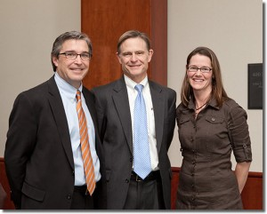 Drs. Mark Abel (Division Head), Mark Romness, and Leigh Ann Lather