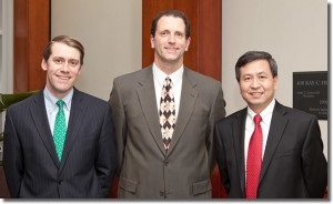 Drs. Thomas Brown (Division Head), James Browne, and Quanjun Cui
